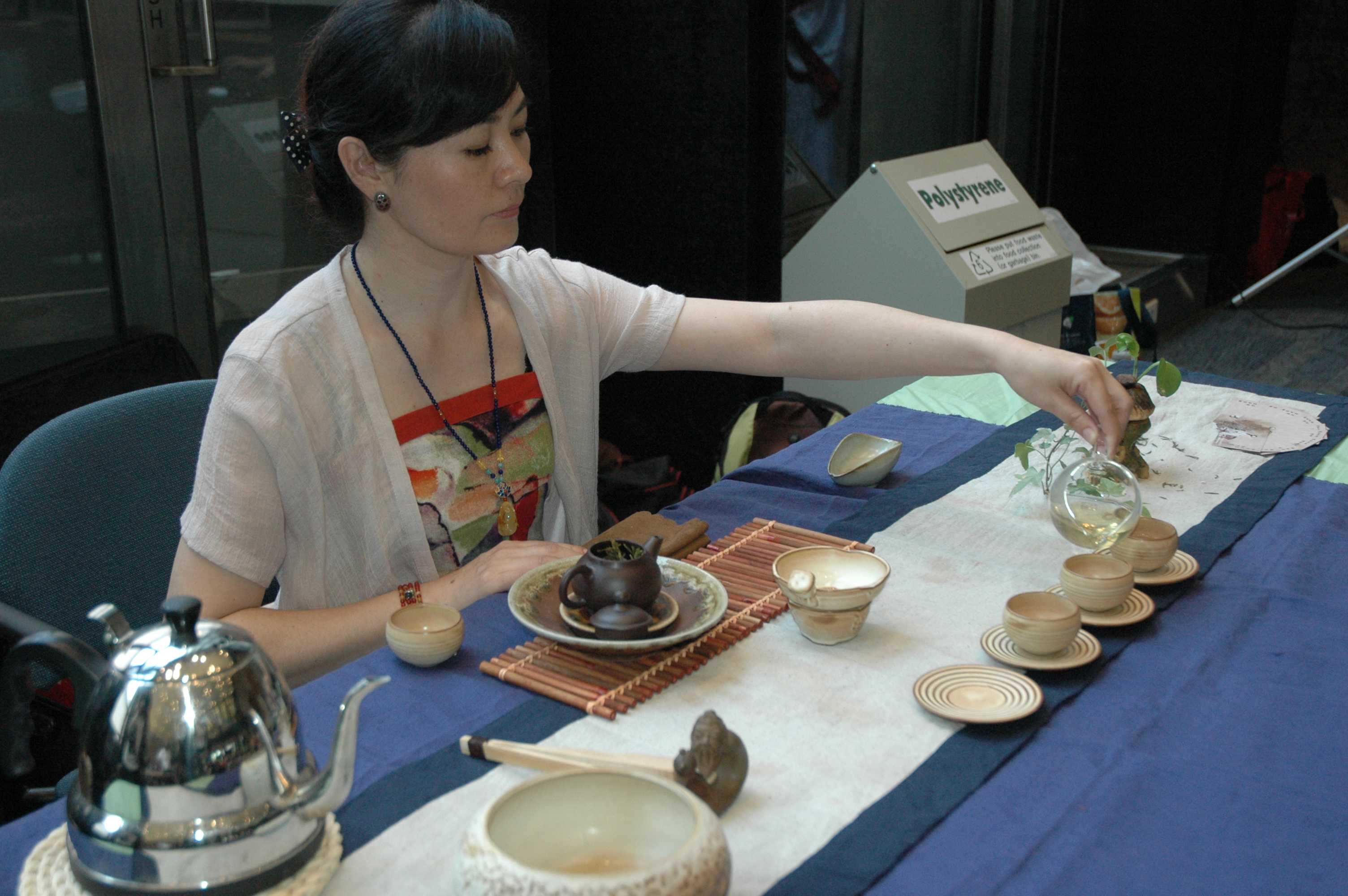 tea exhibition